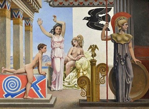 Scène mythologique