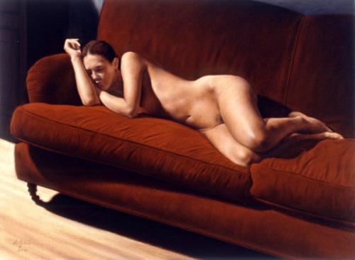 Sofia Reclining Portrait