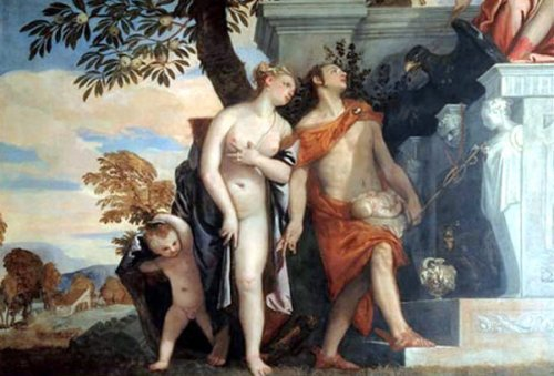 Venus And Mercury Introducing Eros To Jupiter