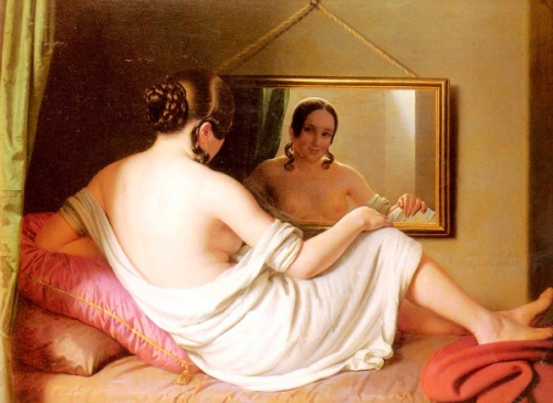 A Woman Before A Mirror