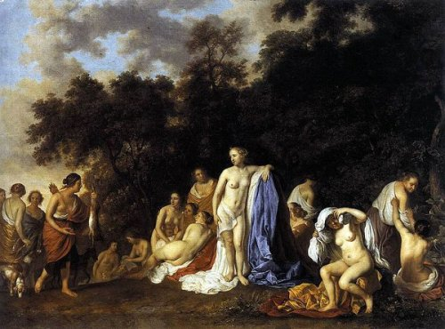 Diana And The Nymphs