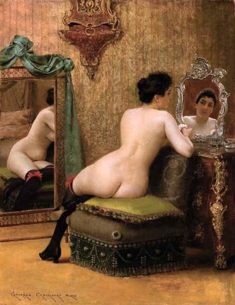 Femme au boudoir