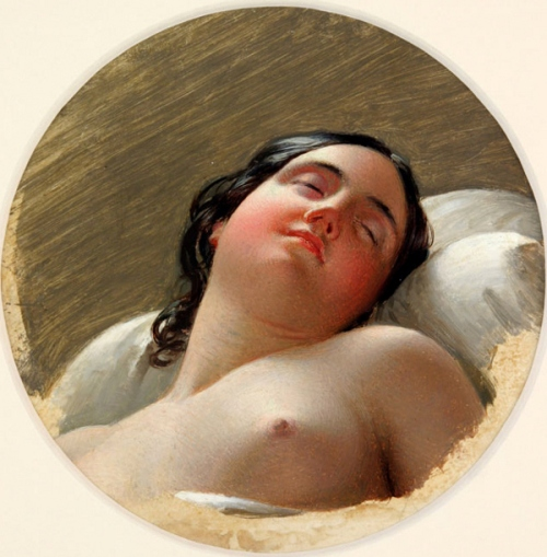 Head Of A Sleeping Woman
