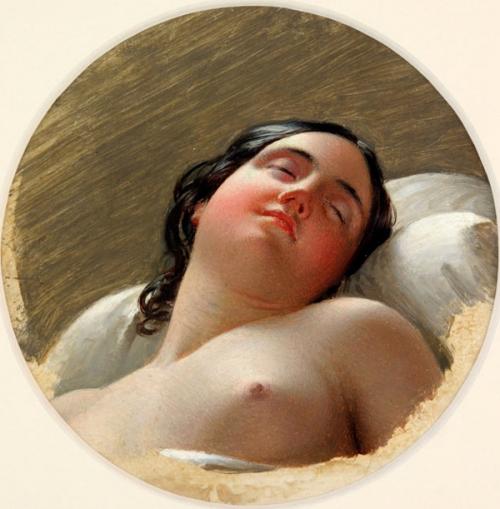 Head Of A Sleeping Woman