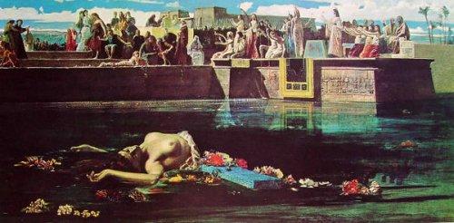 Il sacrificio della vergine al Nilo