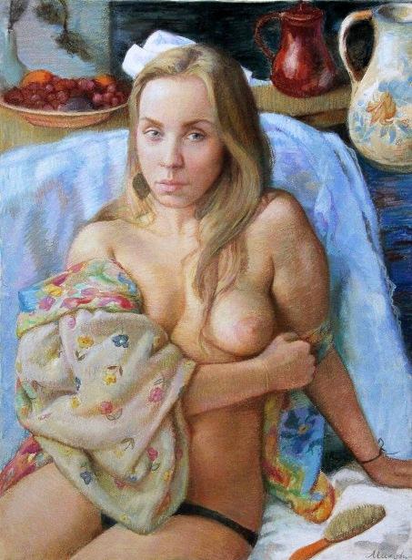 Kristina, Nude