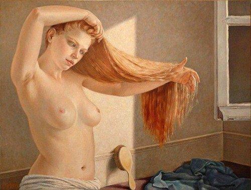 Le rideau de cheveux