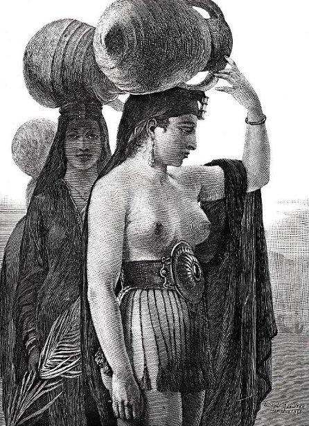 Women Carrying Water