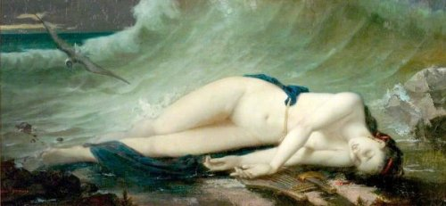 Lady On The Beach - Death Of Virginie