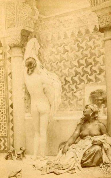 Le bain de l'Alhambra
