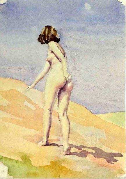 Nude On Sand Dunes