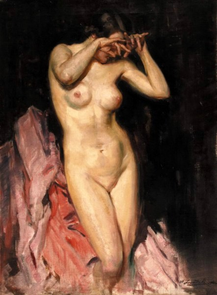 Nude With Clasped Hands