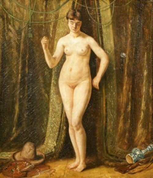 Nude Woman In Interior
