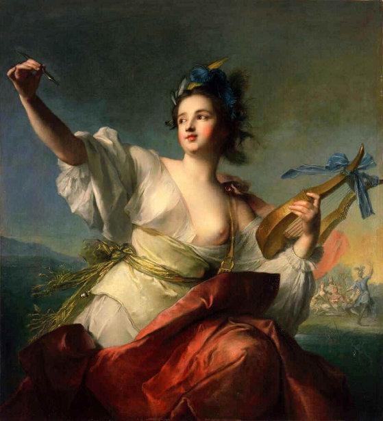 Jean-Marc Nattier (1685 – 1766, French) | LA CONCHIGLIA DI VENERE