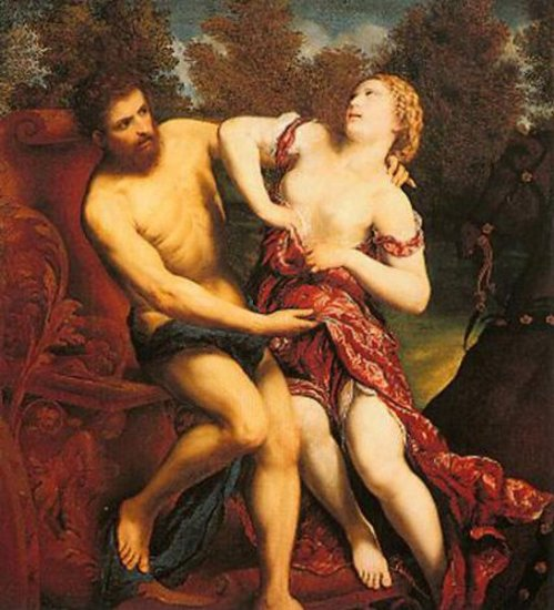 The Rape Of Proserpine