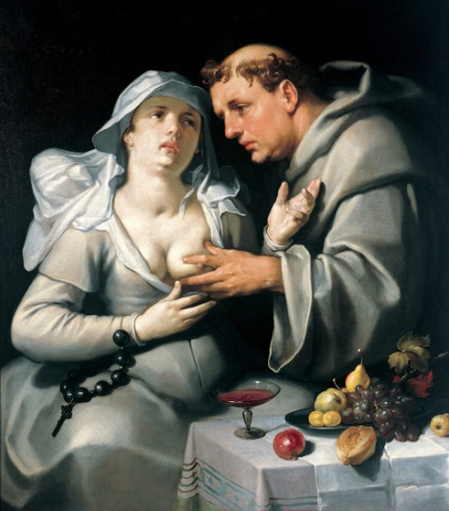 A Monk With A Beguine - The Monk And The Nun