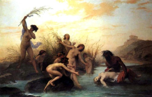 A River God Rescuing A Naiad