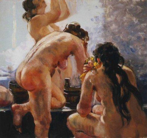 A Russian Communal Bath