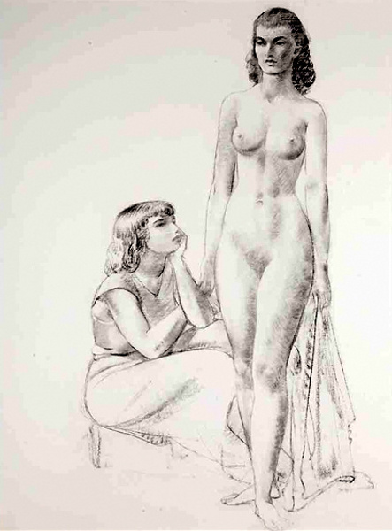 Figure Study Of Women