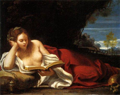 Maddalena leggente