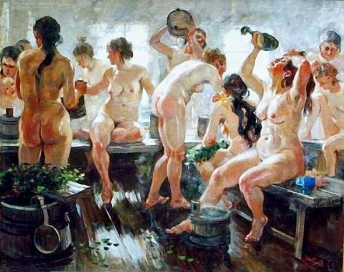 Russian Communal Bath