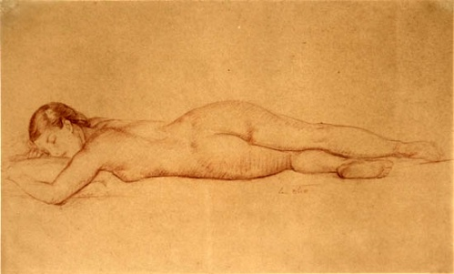 Sleeping Nude 3