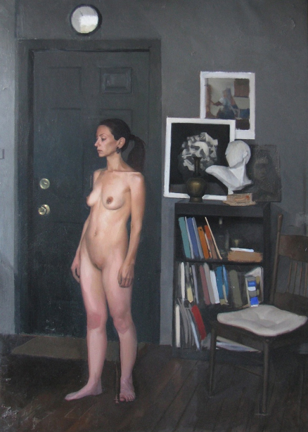Standing Figure In The Studio