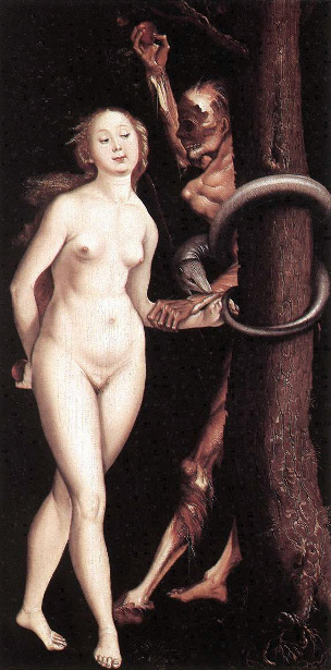 Eve, The Serpent And The Death