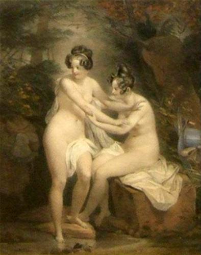 Nude Bathers 1