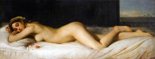Odalisque couchée