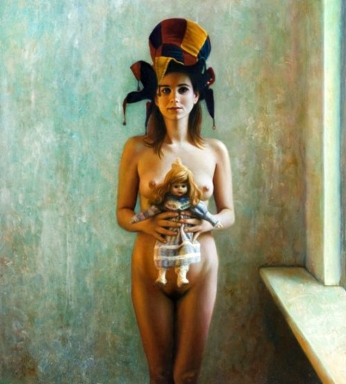 Woman With Doll 4