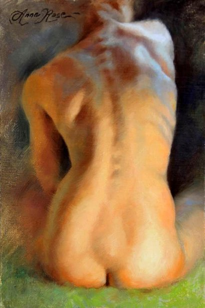 Back Study In Warm And Cool