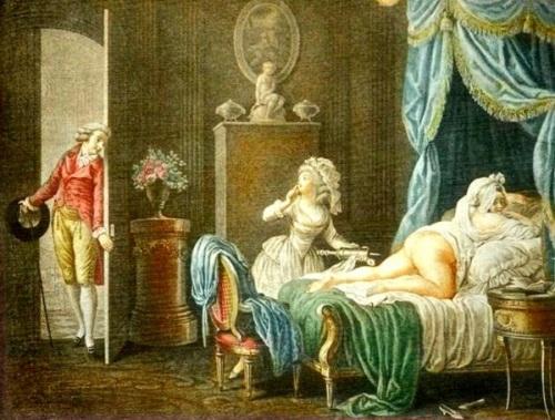La Soubrette Officieuse (The Officious Waiting Woman)
