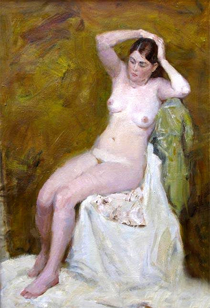 Nude On The Yellow