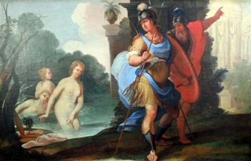 Telemachus And Mentor With Calypso