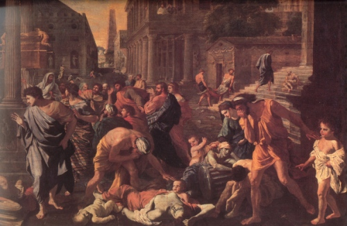 The Plague Of Ashdod (detail)
