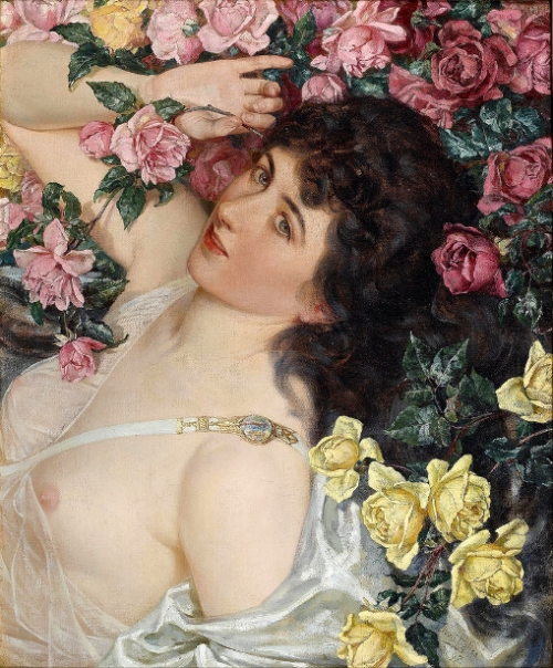 Among The Roses