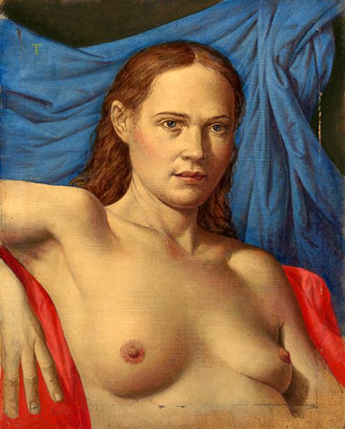 Christine Half-Nude