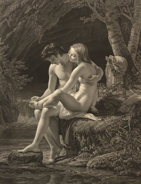 Daphnis et Chloé (after Louis Hersent)