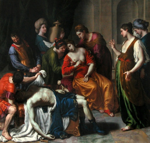 Death Of Anthony And Cleopatra