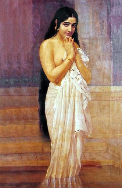 Kerala Girl After The Bath