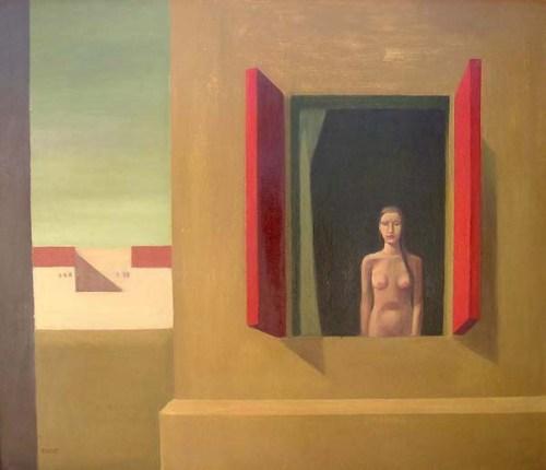 Mujer con ventana