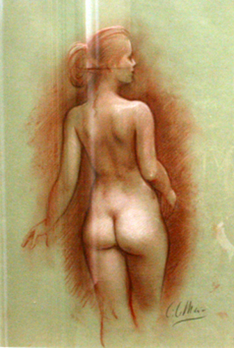 Nude Study From The Back