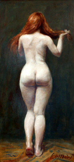 Nude Study (Seen From The Back)