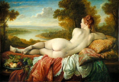 Reclining Nude (Seen From The Back)
