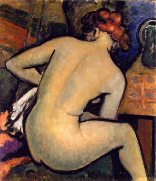 Seated Nude 2
