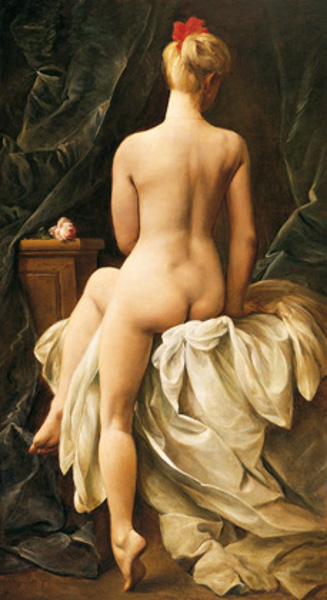 Seated Nude (Seen From The Back)