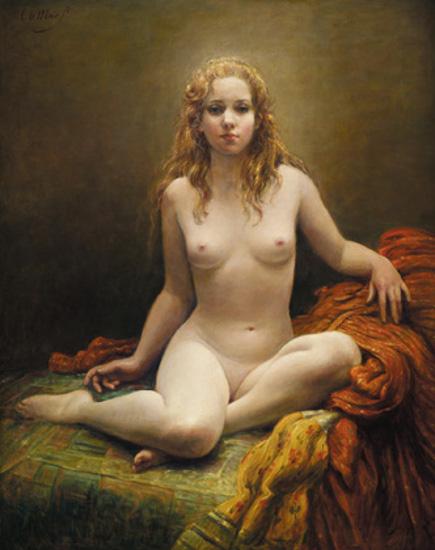 Seated Nude Women