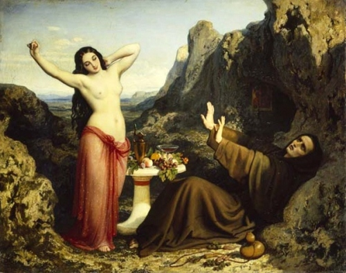 Temptation Of Saint Hilarion