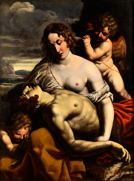 Venus And Dying Adonis